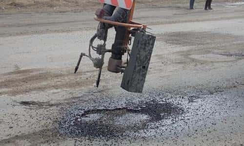 Ямочный ремонт асфальта в Раменское